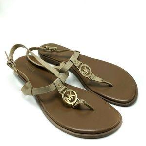 Michael Kors Sandal Flip Flop Ankle Strap (SH69)
